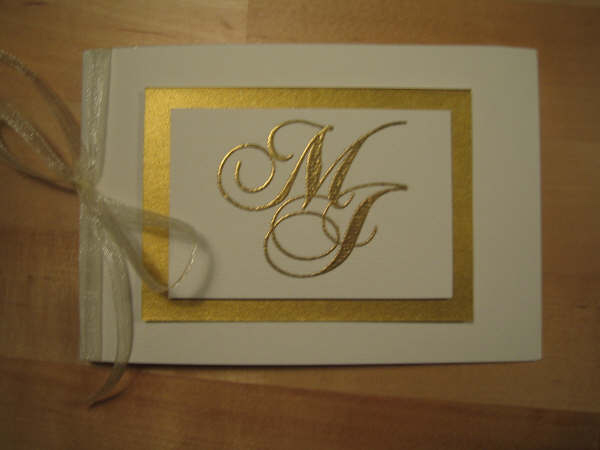 Invitation cards MJ