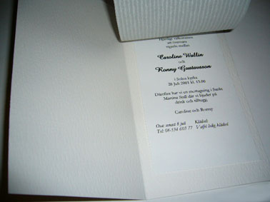 Invitation cards SP